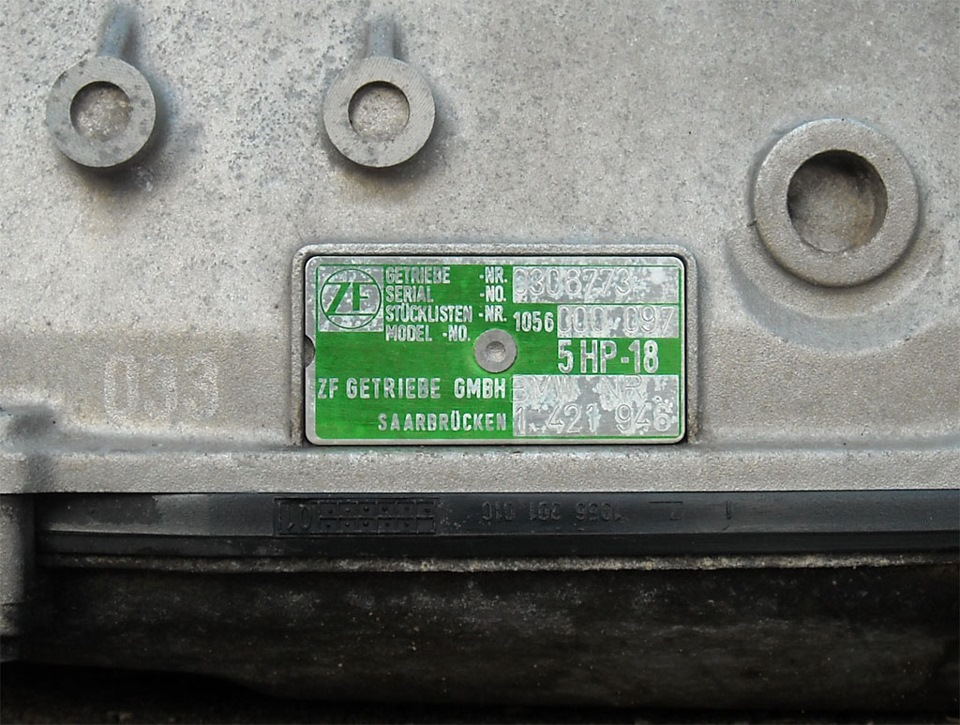 Коробка Автомат ZF 5HP-18