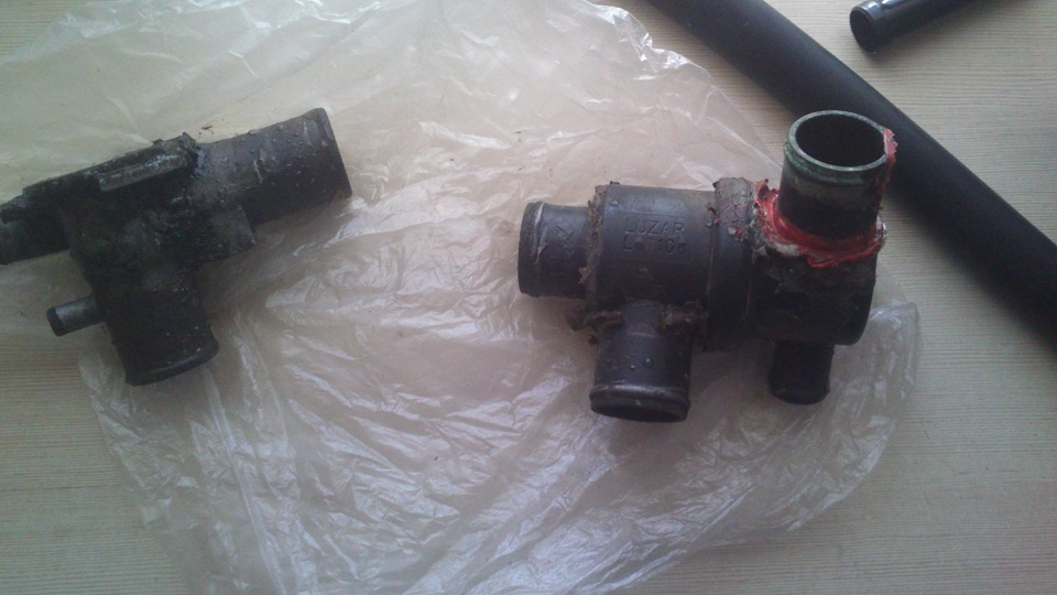 Фото №13 - термостат от ВАЗ 2110 на ВАЗ 2109