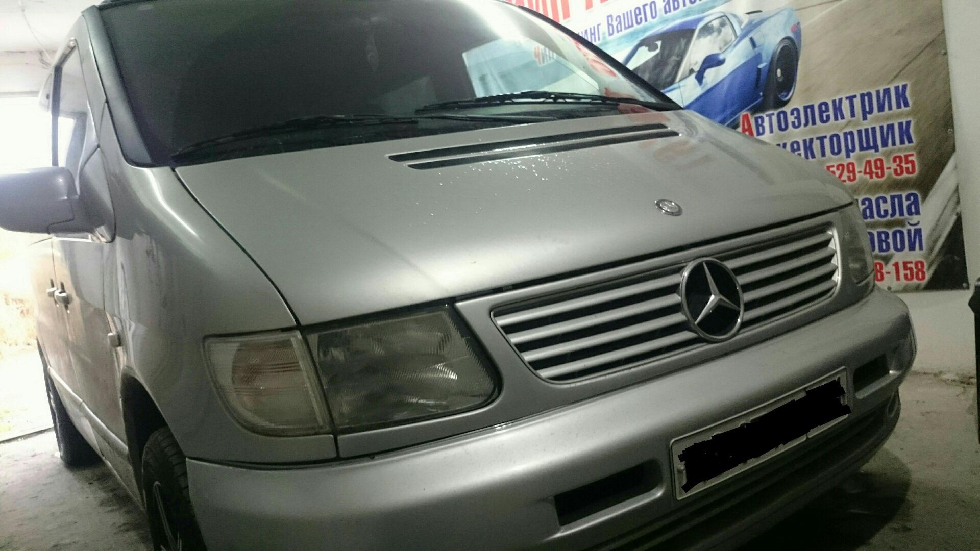 Тюнинг автомобилей вито cdi купить дополнительные тюнинг приборы для автомобиля