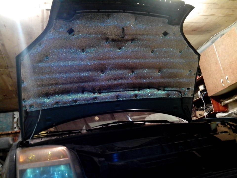 Как утеплить моторный отсек автомобиля своими руками 51