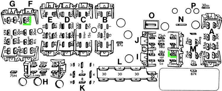 На схеме показаны провода 56а