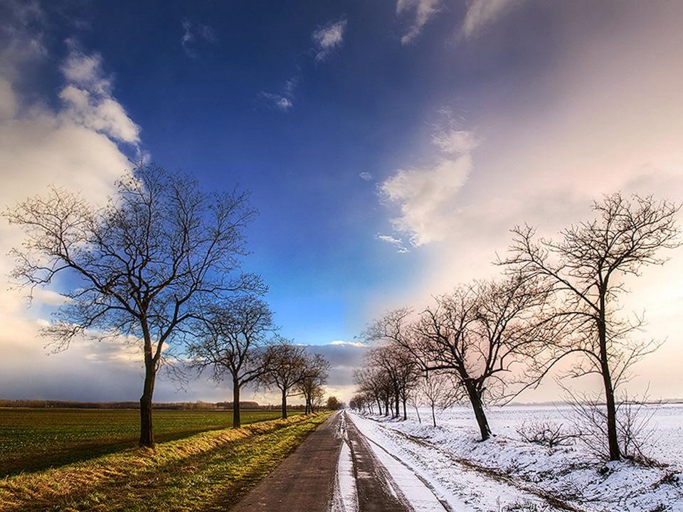Днем рождения, картинки зима и весна