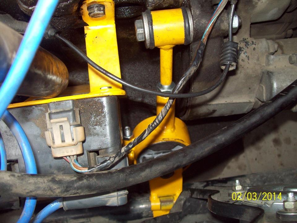 Дополнительная опора двигателя ваз 2110 8 клапанов 76