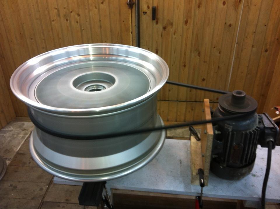 Как полировать литые диски своими руками 50