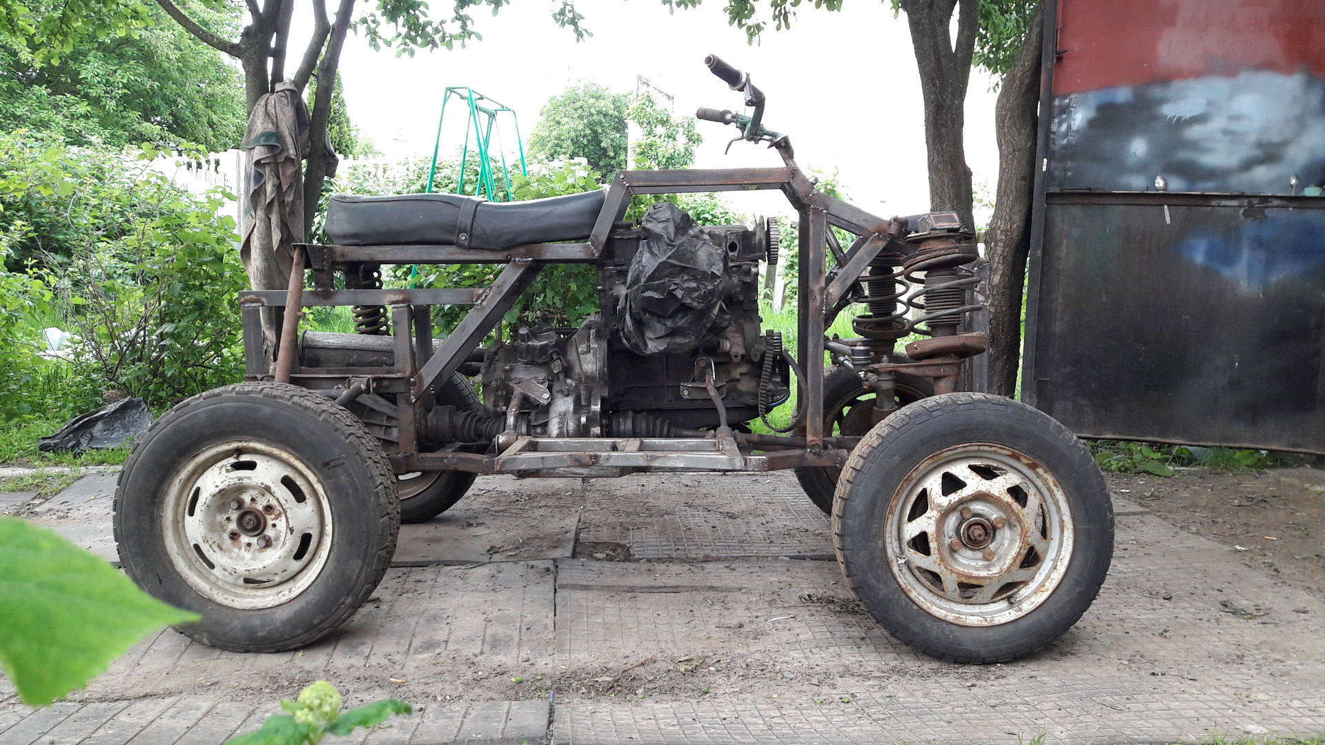 Чертежи квадроцикла на базе «Урала» - Квадроциклы 86