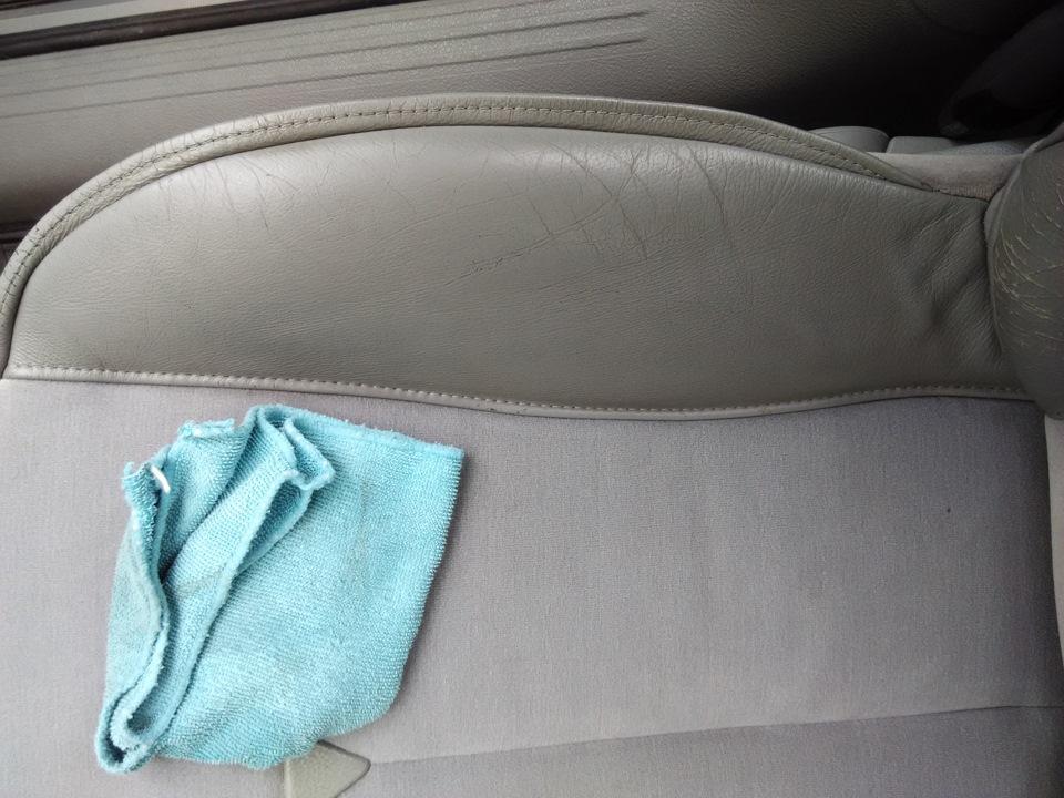 Чистка салона моющим пылесосом