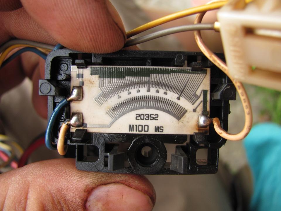Не показывает датчик бака форд фокус первый фото 212-221