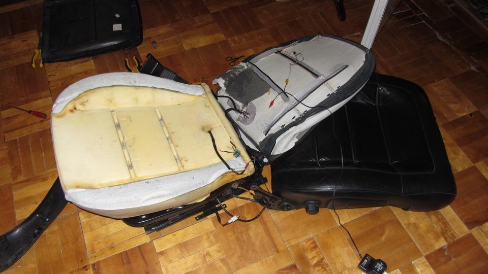 Изготовление  подогрев сидений