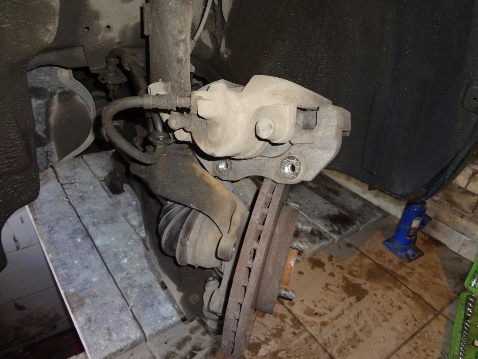 замена передней ступицы на ford c-max