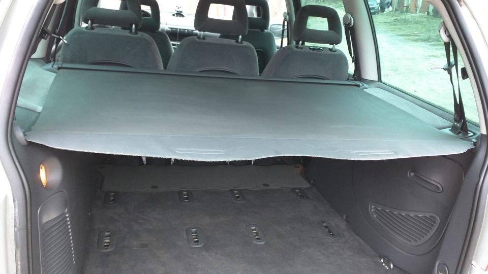 шторка багажного отделения ford galaxy 2
