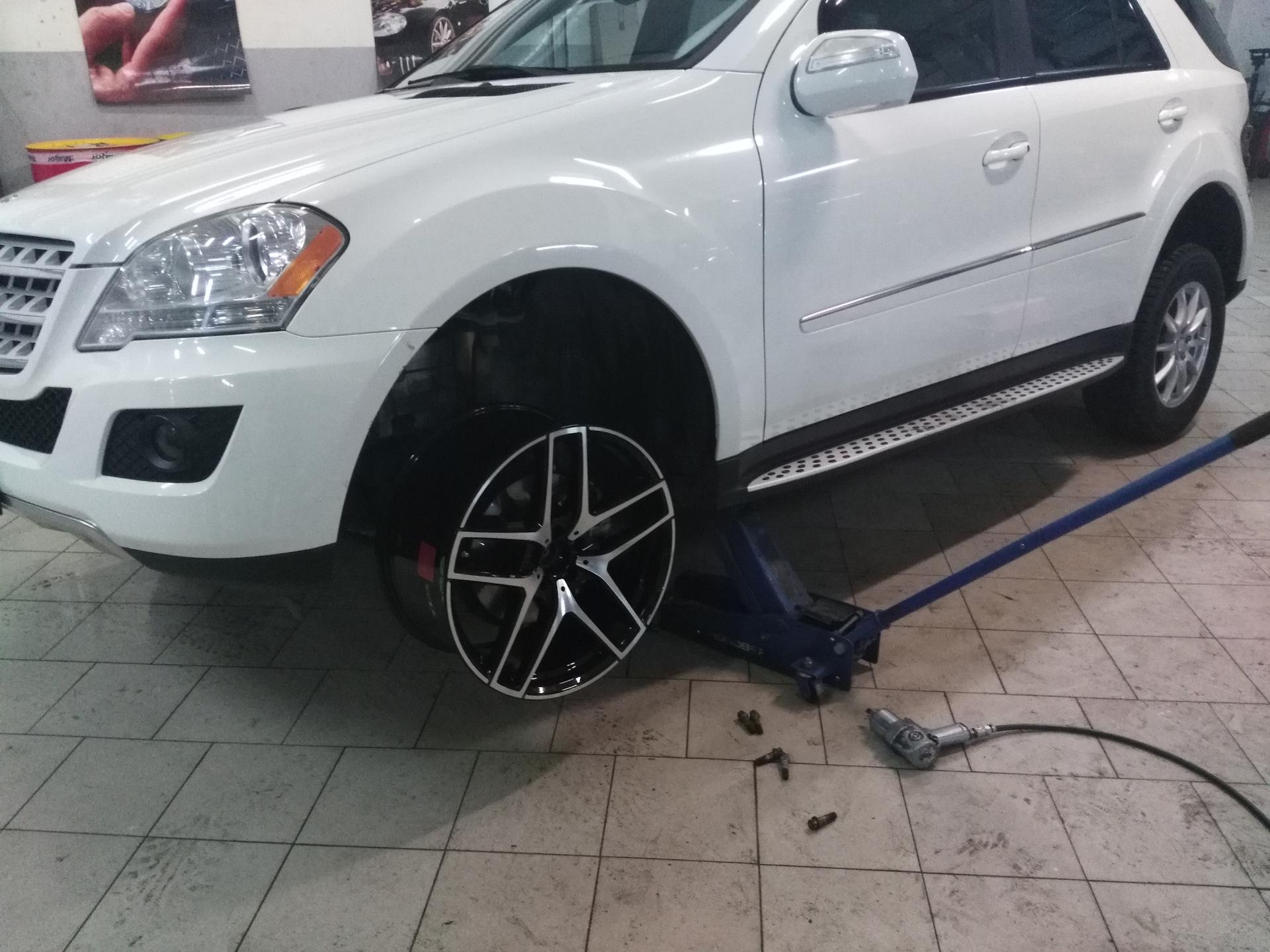 какие колеса ставить на мерседес мл 350