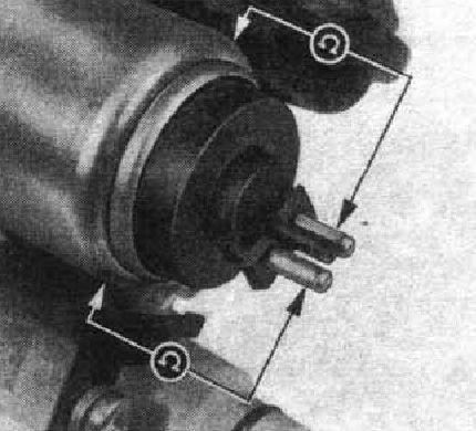 Схема измерения сопротивления изоляции.