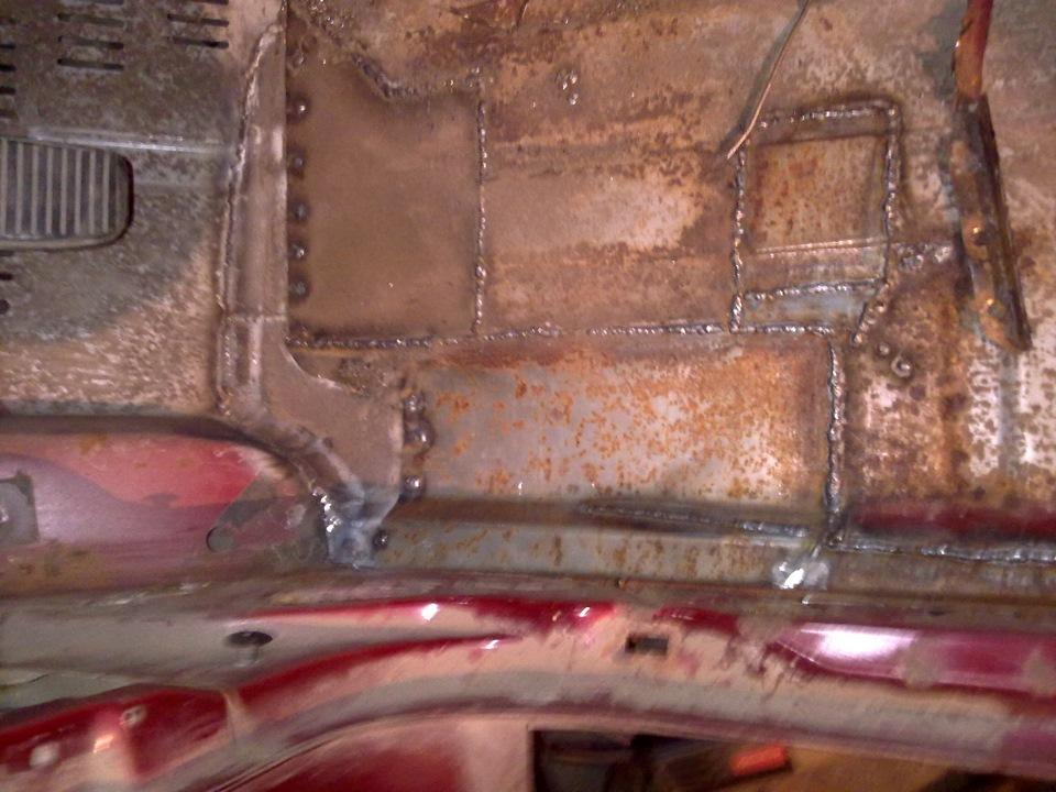 Ремонт ржавчины кузова автомобиля своими руками 35