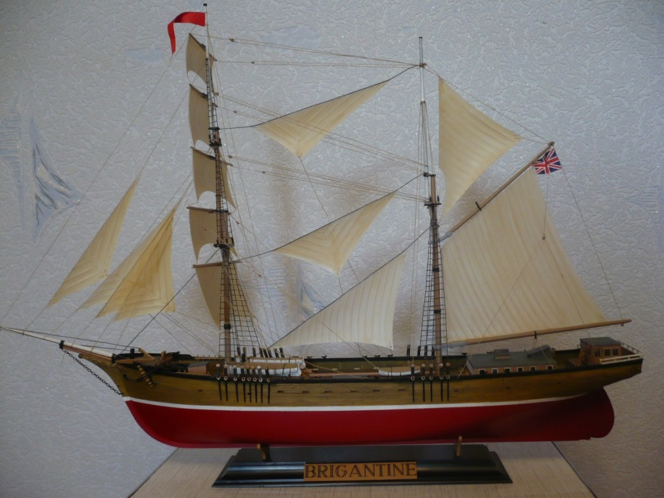 Сборка модели корабля своими руками