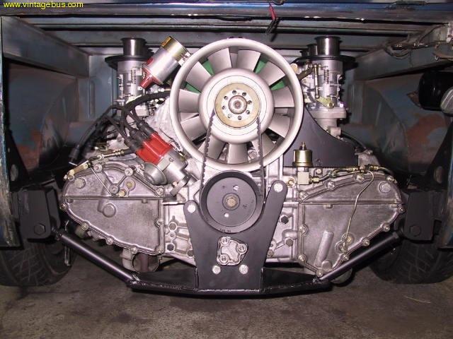 транспортер порше двигатель