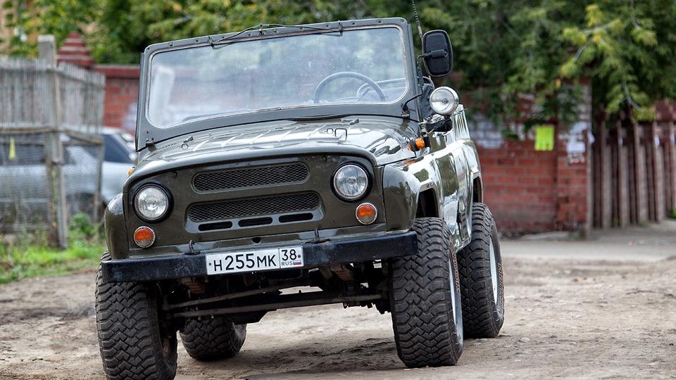 УАЗ 469 и его производные - Товары и цены - СТО для