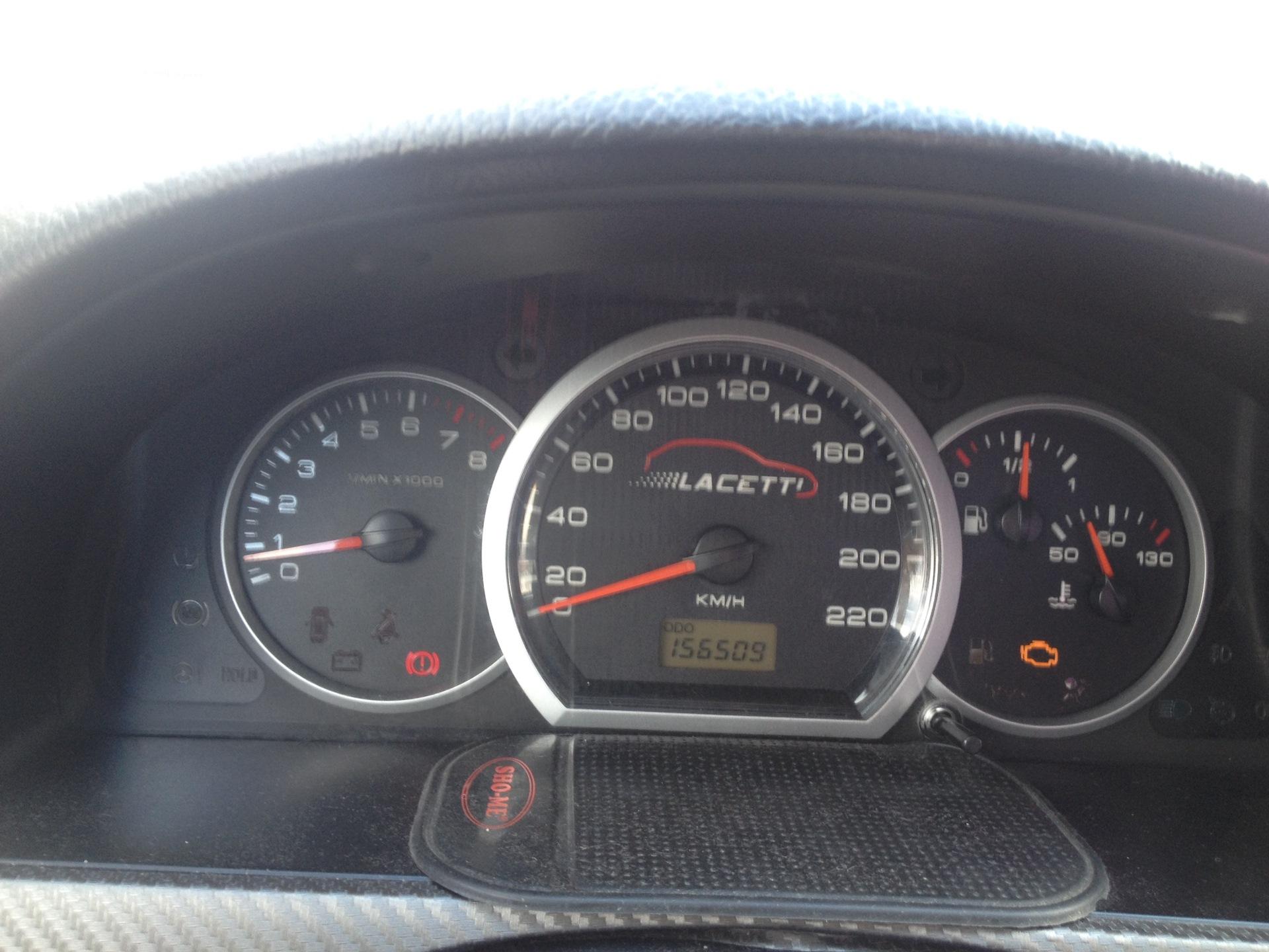 chevrolet lacetti 1.4 check engine