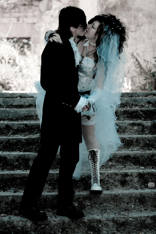 готическая свадьба фото этом