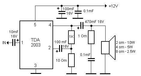 Hi-Fi усилитель на TDA2030 - AmpExpert