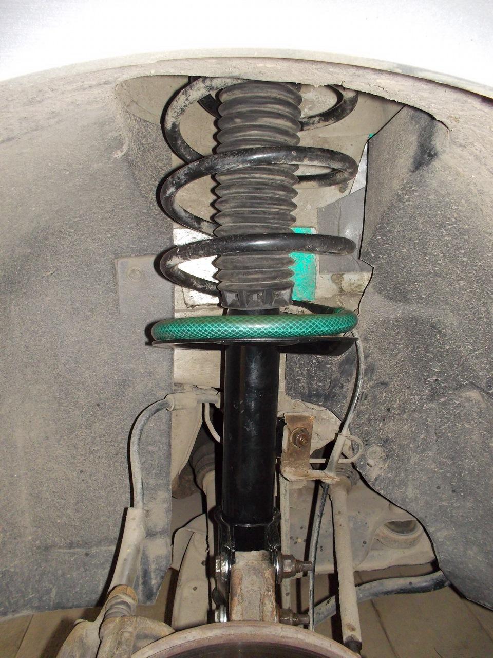 Шевроле ланос ремонт своими руками передние стойки