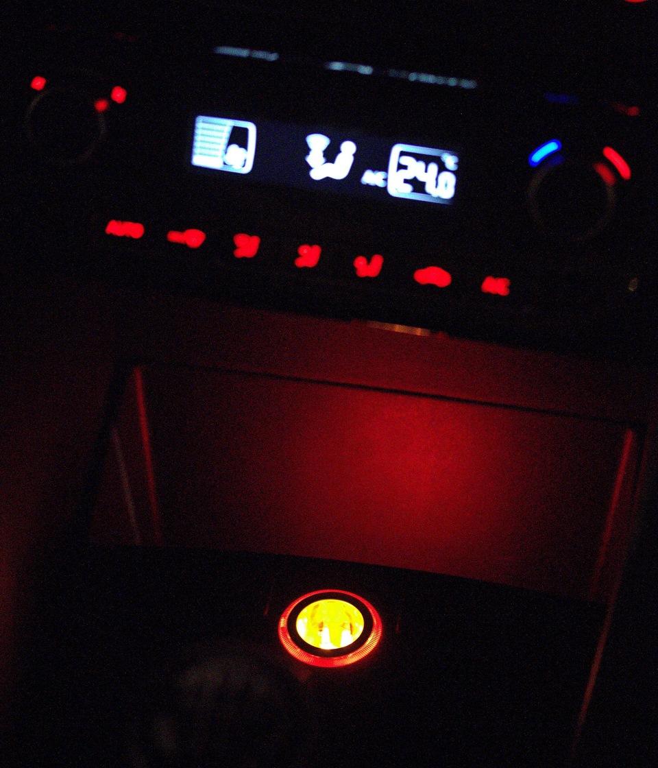 volkswagen polo подсветка