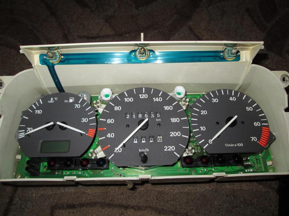 Как снять панель приборов на пассат б3 116