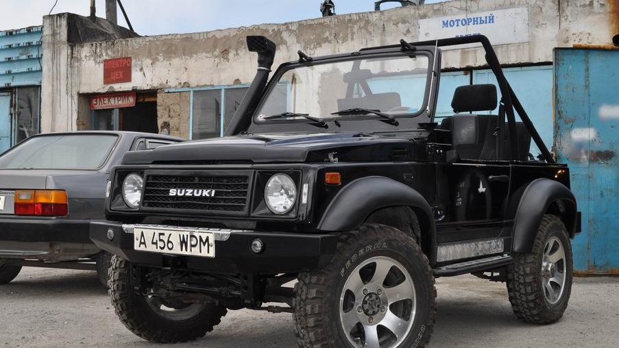 Suzuki Samurai 1991 отзыв владельца Indiy Drive2 Ru
