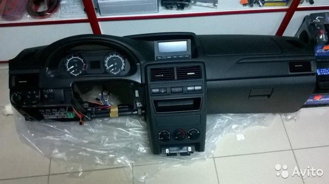 Фото №14 - панель приоры на ВАЗ 2110