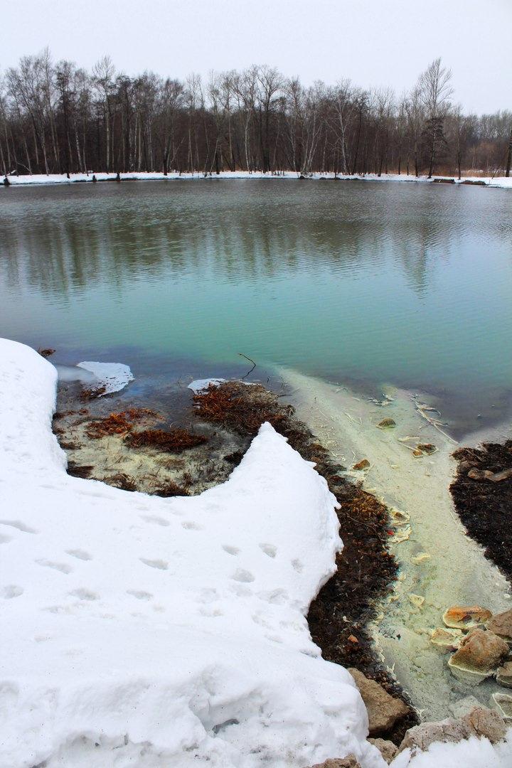 Озеро в серноводске самарская область фото