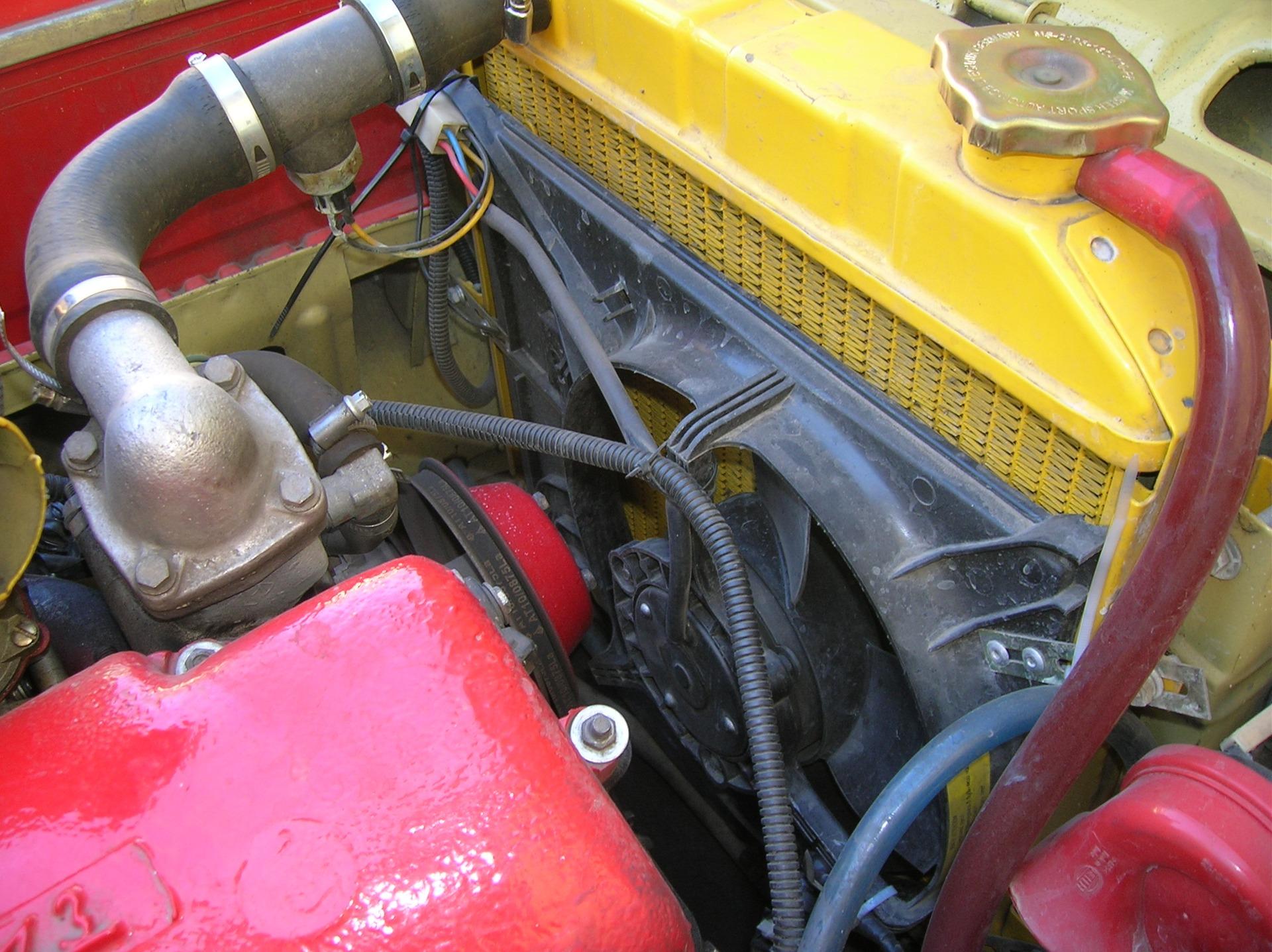 схема охлаждения двигателя москвич