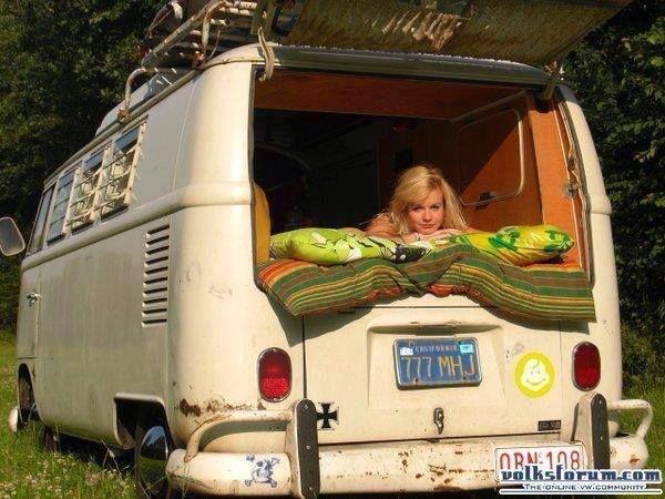 Vw Camper Van >> Girls integral part VW Bus — DRIVE2