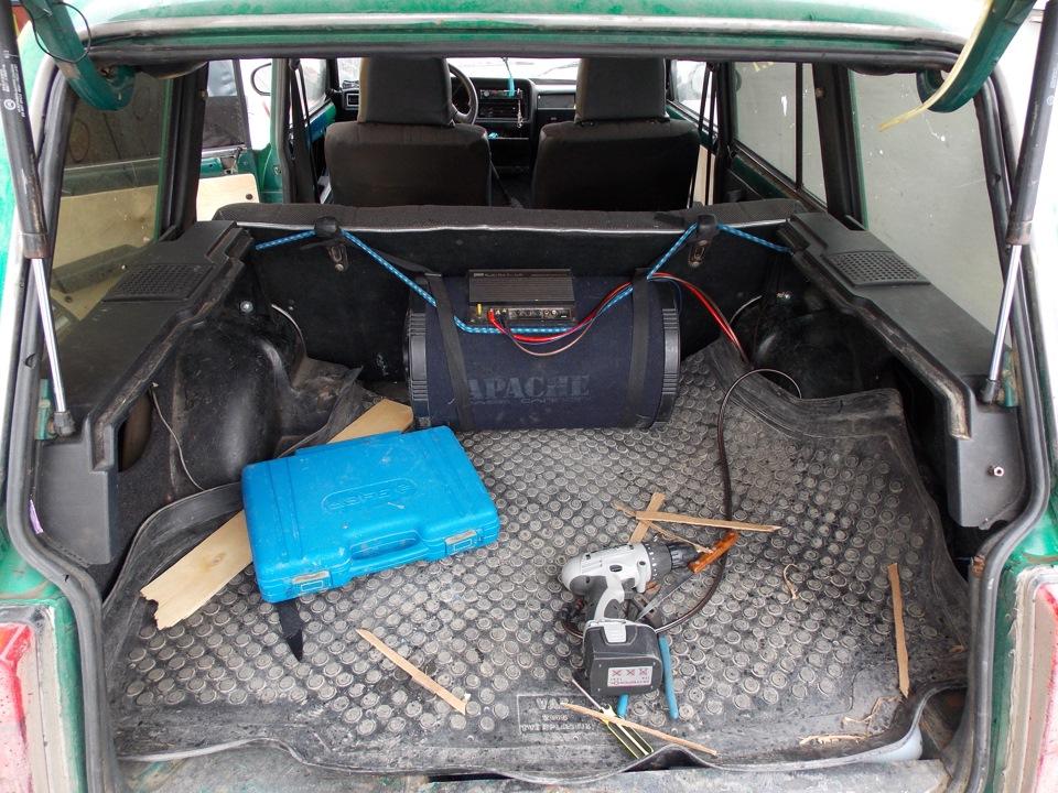 Пластиковый багажник своими руками