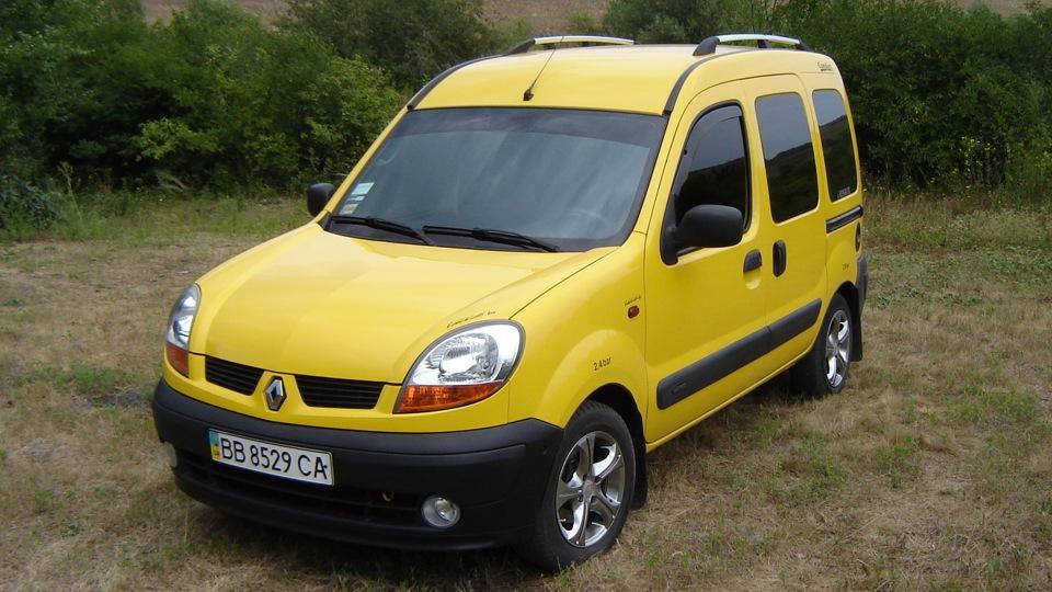 Renault Kangoo крепкий автомобиль