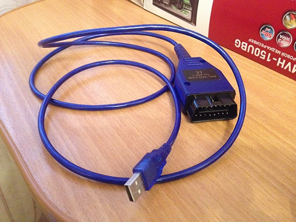 Диагностический кабель VAG COM KLL 409.1. - бортжурнал Лада 2109 LaTazio 2003 года на DRIVE2