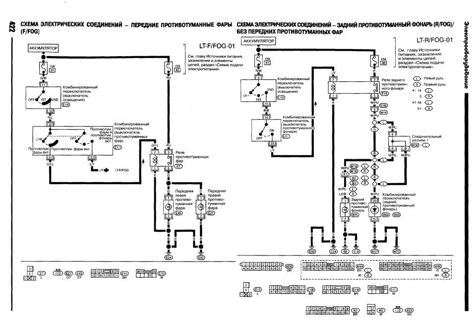 X trail схема электрическая фото 382