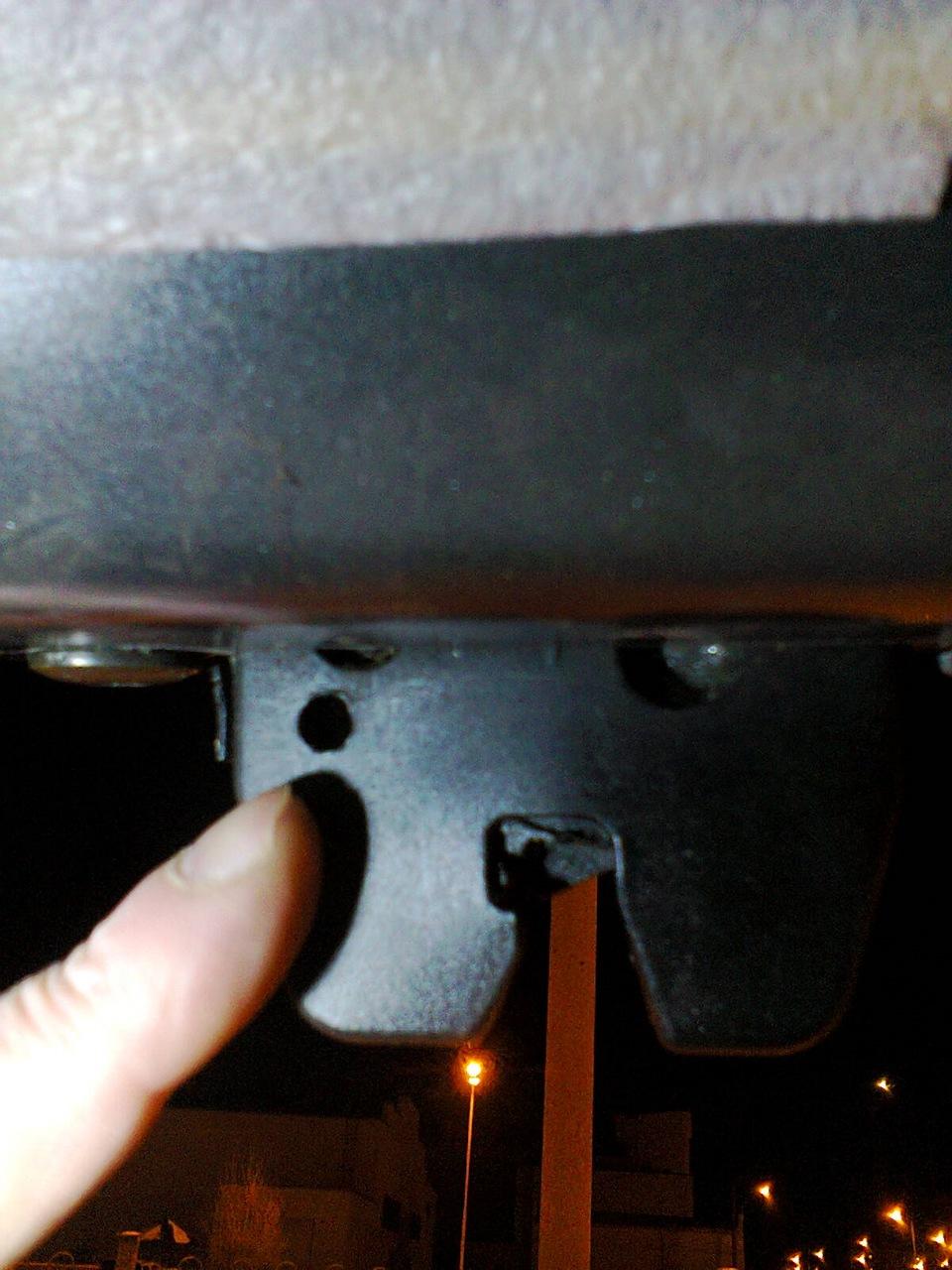 снятие замка двери багажника ситроен с5 универсал
