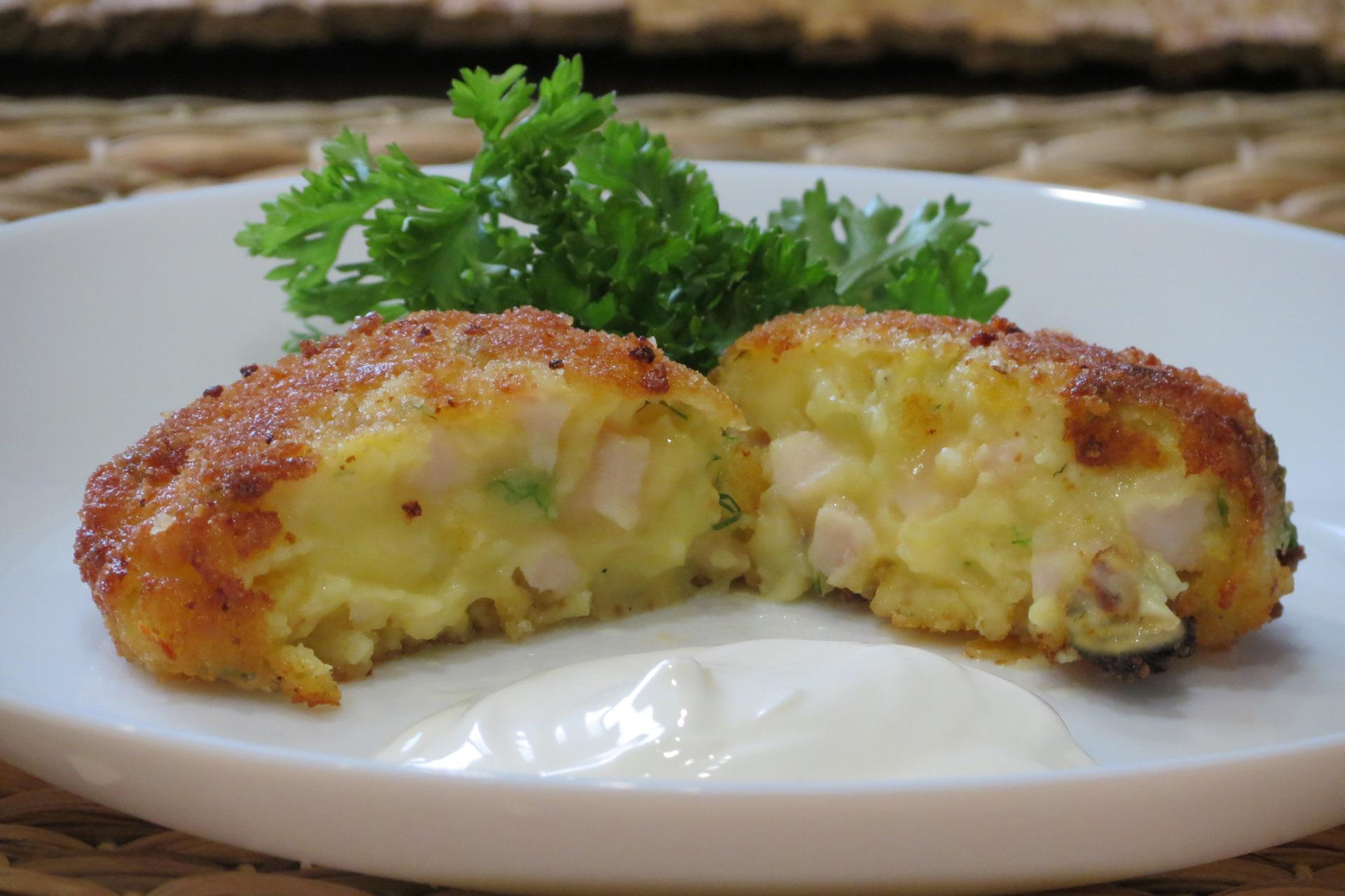 блюда из картофельного пюре рецепты с фото она представила