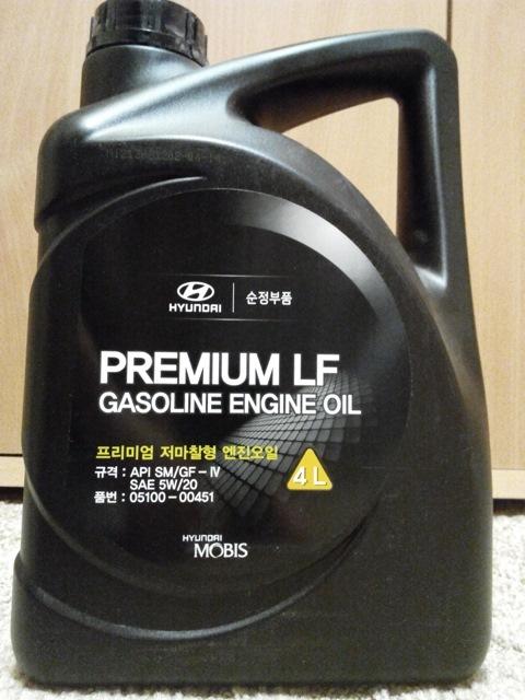 моторное масло hyundai premium