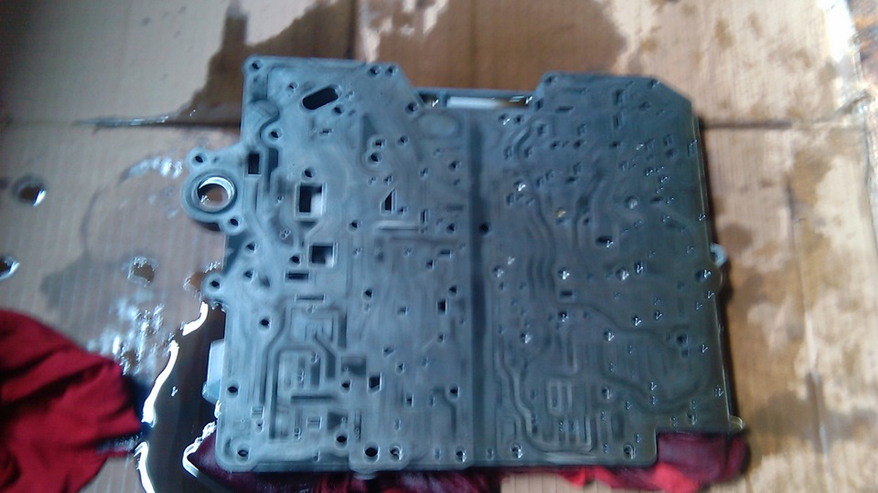 Промывка гидроблока АКПП 5HP19
