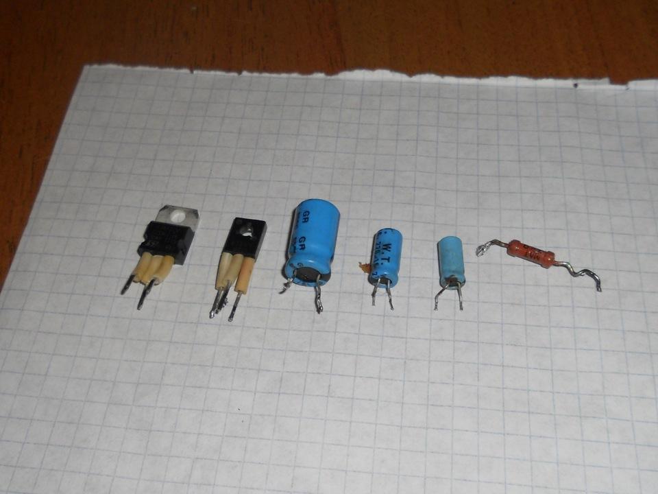 L7812cv, транзистор КТ817