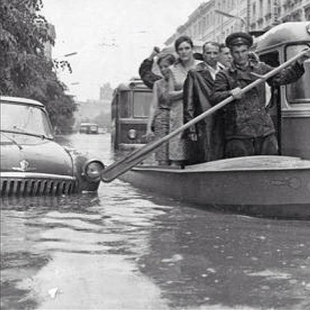 Потоп в Москве,  1965 год