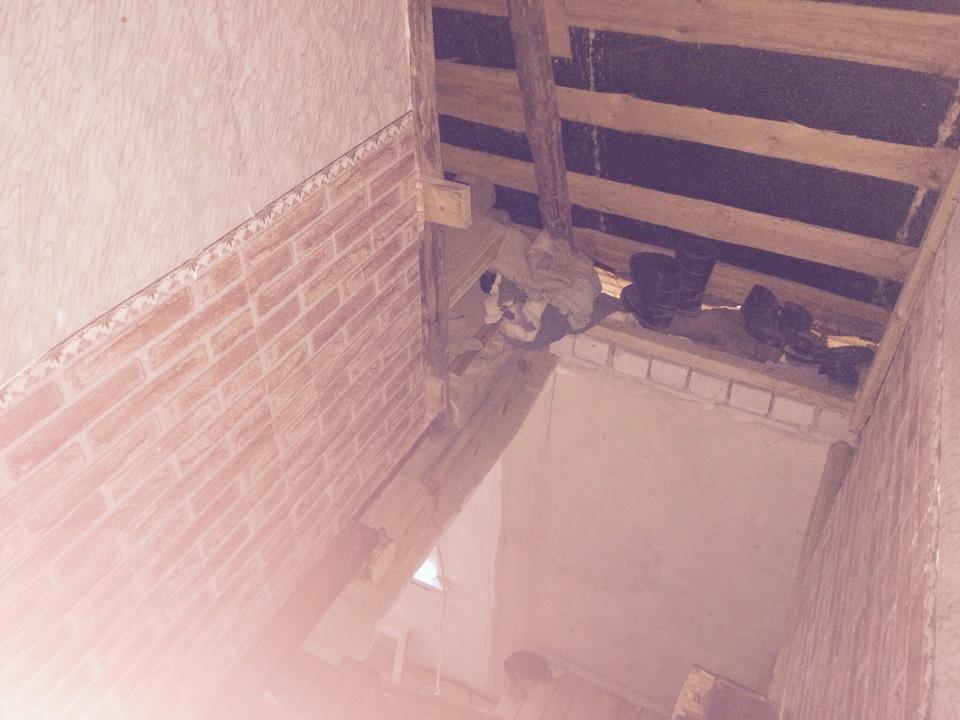 Как сделать лестницу на даче 663