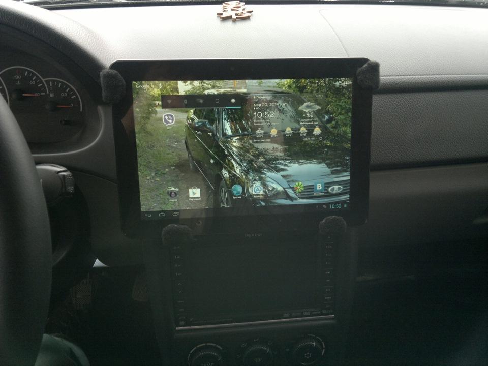 Крепление для планшета своими руками в машину