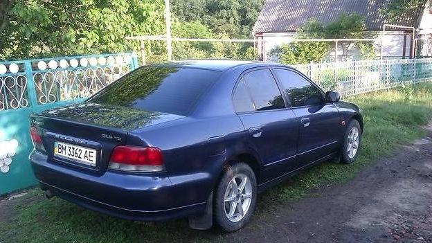 mitsubishi galant 1997 расход