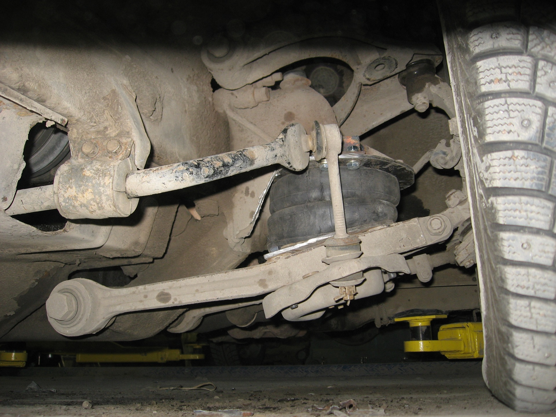 Пневматическая подвеска своими руками на газ 36