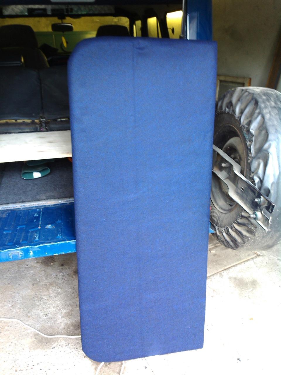 Переделка задних сидений уаз 469