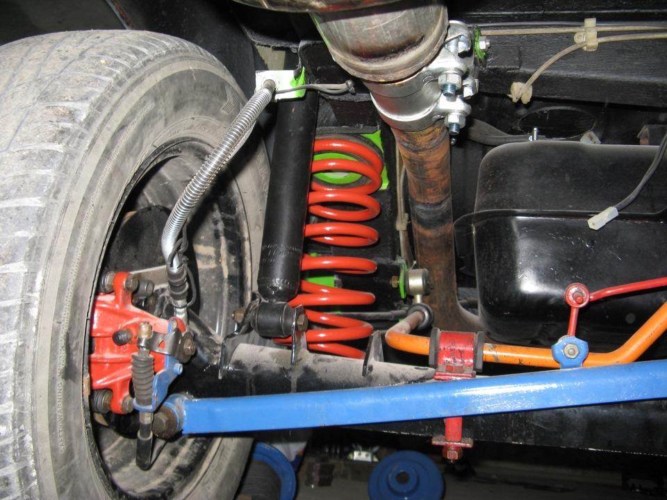 Задняя подвеска - бортжурнал Москвич 2141 2.0 GTO 1991 года на DRIVE2