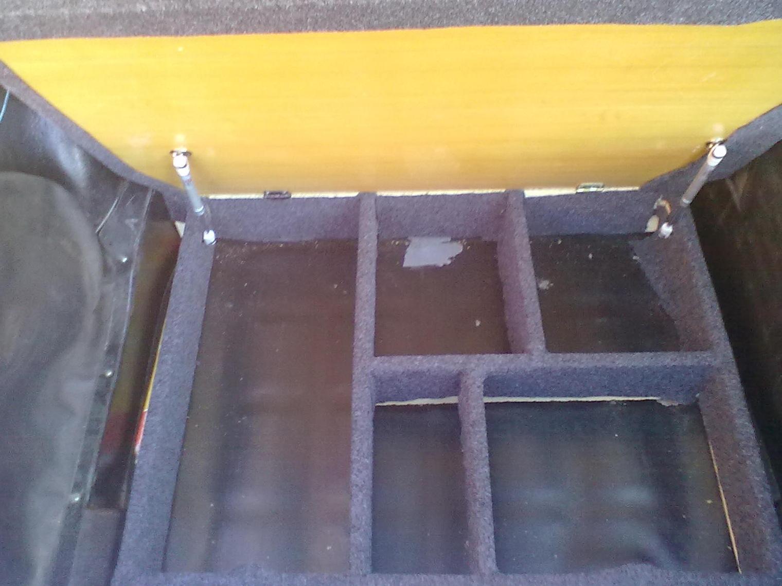 Изготовление фальшпола в багажник своими руками