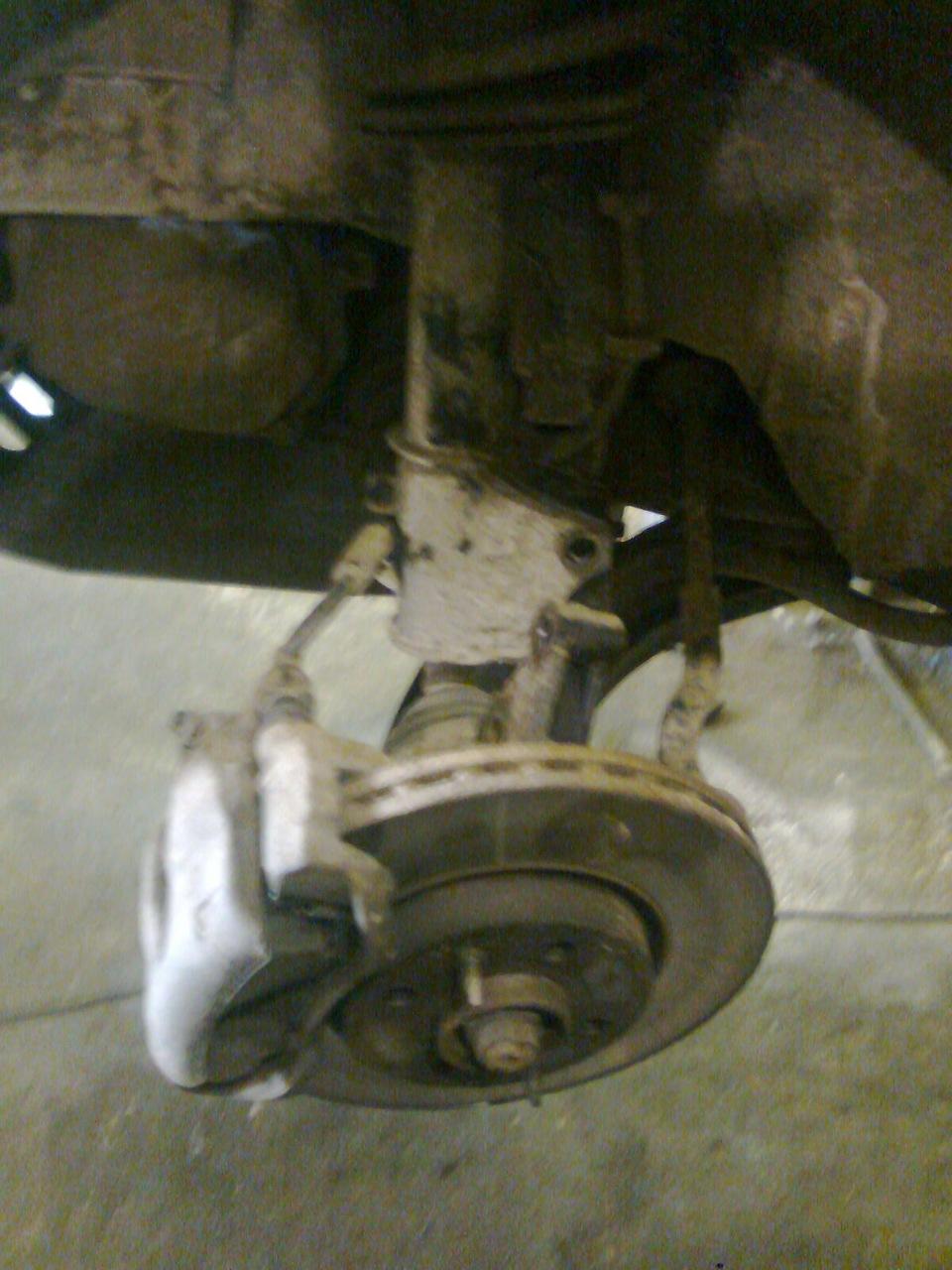 люфт заднего колеса фиат альбеа