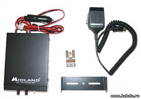 Автомобильная радиостанция Alan 100 40каналов-Европейская и 40каналов-Российская сетка частот от 26.960МГц до...